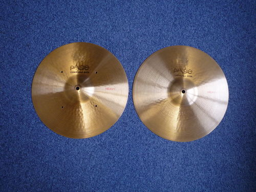 "14"" Paiste Formula 602 Heavy Hi-Hat, from 1972"