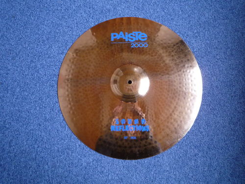 "20"" Paiste 2000 Ride Sound Reflector 2363 grams, from 1988"
