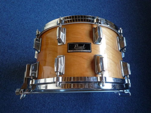 "Pearl ET814X 8-ply Maple snare drum 14"" x 8"", from 1980"