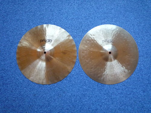 "14"" Paiste Sound Creation Dark Sound Edge Hi-Hat, from 1978"