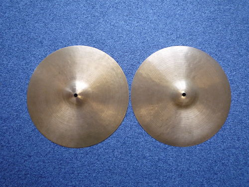 "13"" Zildjian K Istanbul Hi-Hat New Stamp, 825 and 737 grams"