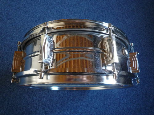 "Sonor D454 metal snare 14"" x 5"" from 1970's"