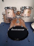"Ludwig Accent CS Custom Drumset, 22""-12""-13""-16""+ snare"