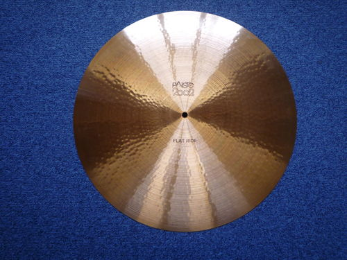 "20"" Paiste 2002 Flat Ride from 1975 black logo, 2022 grams"