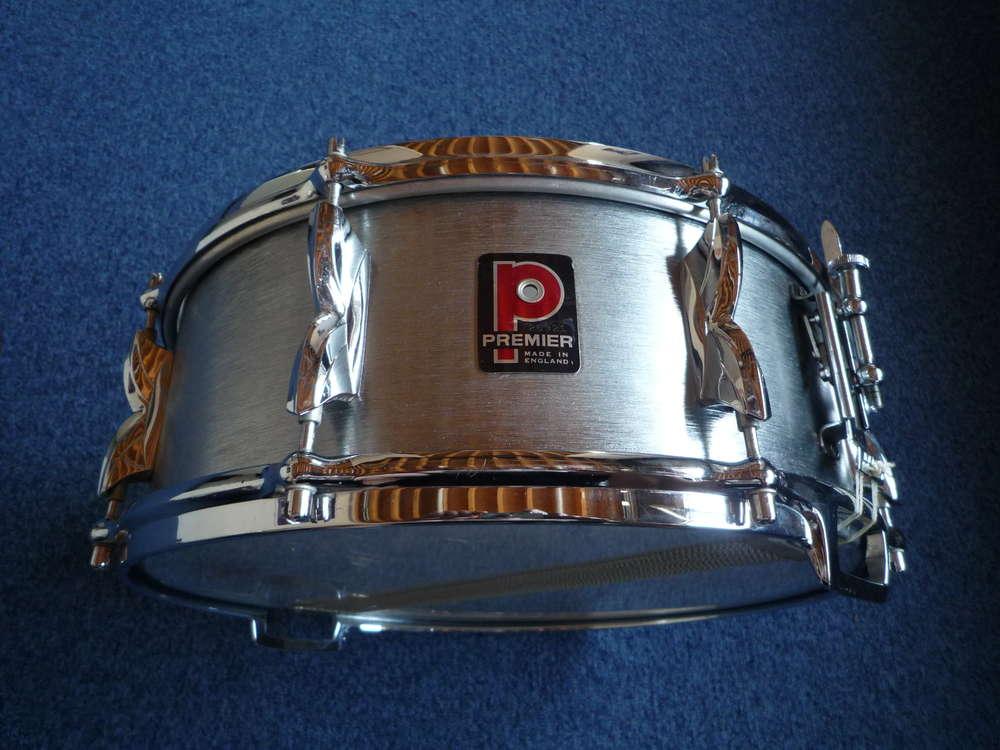 Premier Hi-fi Brushed COA snare drum 14