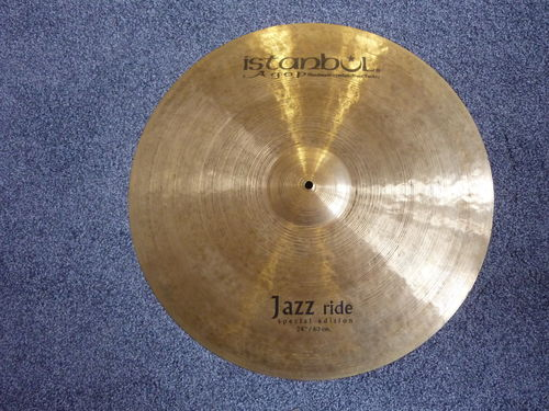 "24"" Istanbul Special Edition Jazz Ride demo model, 2678 grams"