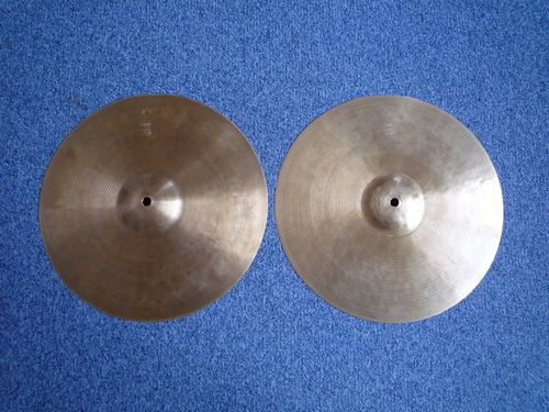 "14"" Istanbul Agop 30th Anniversary Hi-Hat paper thin set, 650 - 639 grams!"