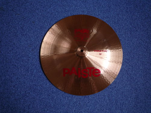 "18"" Paiste 2002 China Type, 1225 grams from 1981"