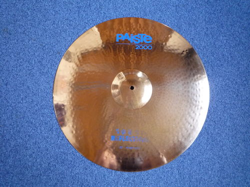 "22"" Paiste 2000 Power Ride Sound Reflector 2436 grams, from 1988"