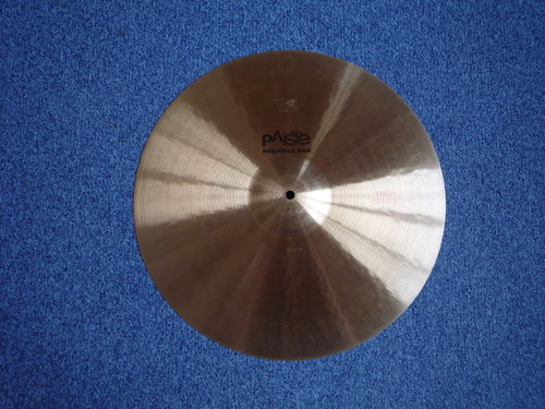 "18"" Paiste 602 Thin Crash, 1380 grams, from 1978"