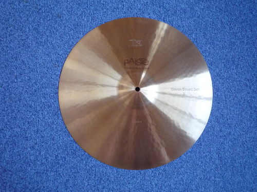 "17"" Paiste 602 Flat Ride Seven Sound Set 3, 1876 gr. from 1976"