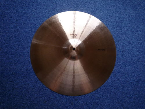 "20"" Paiste 404 Medium black logo, 1773 grams"