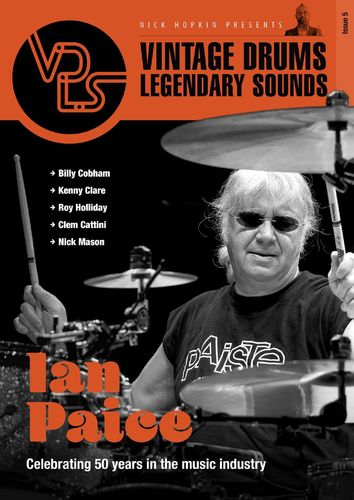 Vintage Drums Legendary Sounds Magazine Issue 5