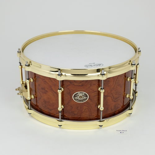 "Ludwig Classic Maple Exotic series 14"" x 6,5""  snare drum Waterfall Bubinga"