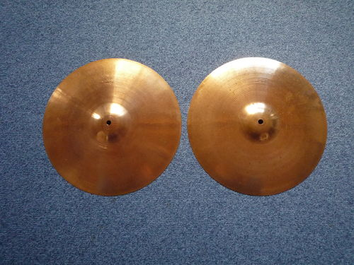 "15"" Paiste Stambul 65 Hi-Hat, 1012 - 930 grams from 1960's"