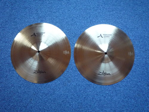 "14"" Zildjian Armand Hi-Hat, 1248 and 1020 grams"