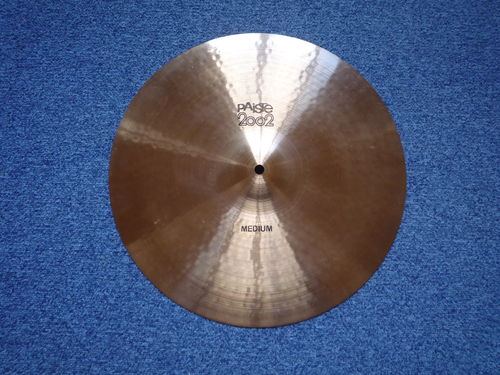 "16"" Paiste 2002 Mediuml black logo, 1118 grams from 1976"