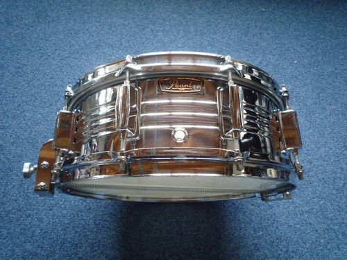 "Pearl COB Jupiter snare drum 14"" x 5"" with parallel strainer, 1970's"