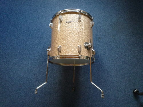 "Rogers Holiday Floor Tom 16"" x 16"", Dayton era"