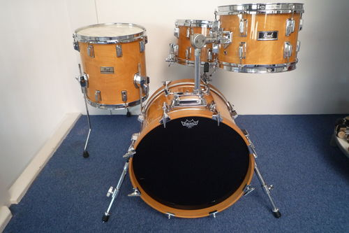 "Pearl BOP Drumkit DLX Professional series 18""-12""-14"", early 1980's"
