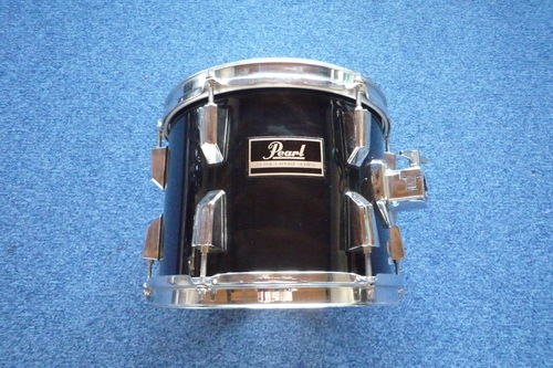 "Pearl Export Tom 10"" x 8"" black"