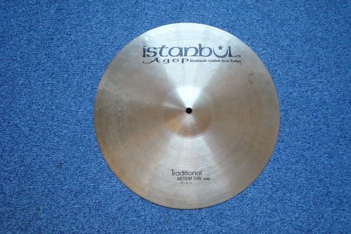 "17"" Istanbul Traditional Medium - Thin Crash 1135 grams"