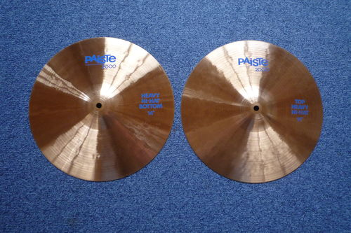 "14"" Paiste 2000 Heavy Hi-Hat  from 1990"