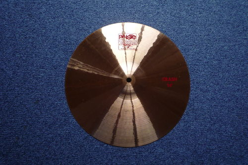 "14"" Paiste 2002 Crash red logo, 792 grams"