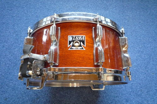 "1980's Tama Superstar Artwood birch Snare Drum 14"" x 6,5"", Made in Japan"