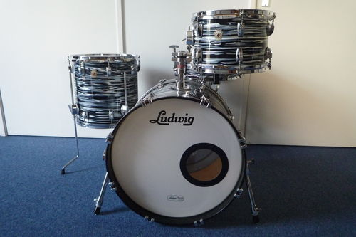 "Ludwig Classic Maple Fab-4, 4 Piece Shell Pack, 20""-12""-14""- snare"