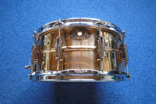 "Ludwig LB552 Bronze Supraphonic 100th Badge 14"" x 6,5"""