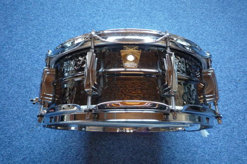 "Ludwig Black Beauty 14"" x 5"" Brass Shell Snare Drums LB416K, used"