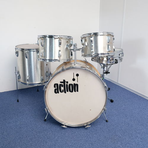 "1970's Sonor Action drumset 22""- 12"" - 13"" - 16"" - metal snare"