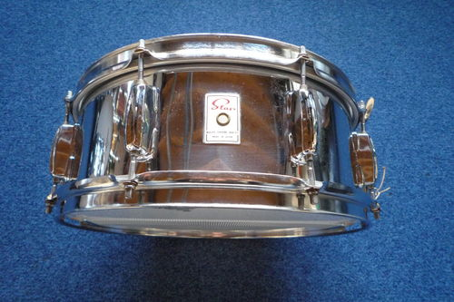 "Star Tama metal snare drum 14"" x 5"", 8 lugs, Made in Japan"