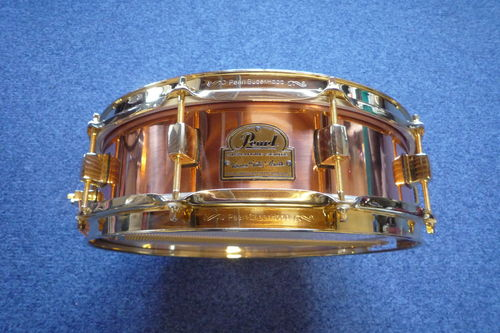 "Pearl Marvin ""Smitty"" Smith 14"" x 4"" Snare Drum Copper shell"
