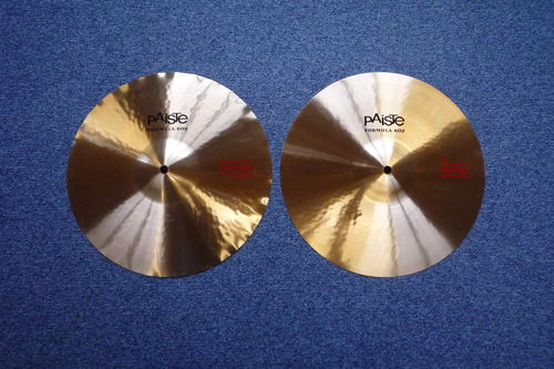 "14"" Paiste Formula 602 Sound Edge Hi-Hat from 2010, NEW!"