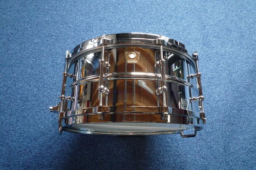 "Ludwig LM402T Supraphonic Snare 14"" x 6,5"", tube lugs, die cast hoops"
