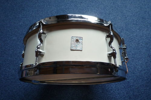 "1950's Olympic snare drum 14"" x 5,5', white cortex"