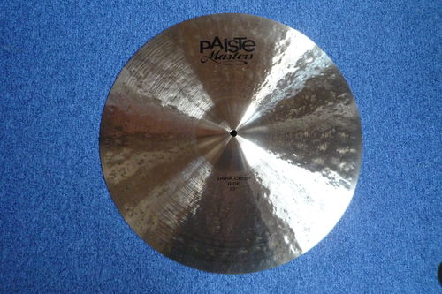 "22"" Paiste Masters Dark Crisp Ride 3165 grams from 2014"