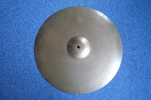 "22"" Zildjian Avedis ride 1950's, 2462 grams, big hollow block stamp"