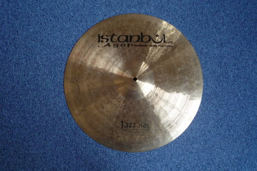 "19"" Istanbul Special Edition Jazz Ride, 1627 grams"