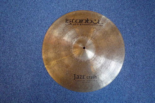 "18"" Istanbul Special Edition Jazz Crash, 1439 grams"