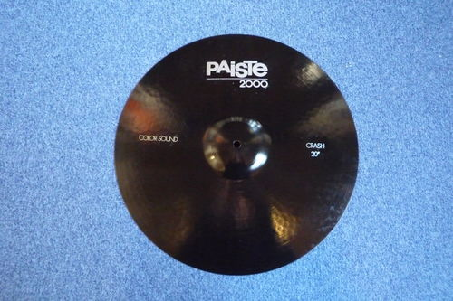 "20"" Paiste Color Sound 5 Crash black, 1852 grams from 1987"