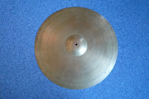 "22"" Zildjian Avedis ride 1950's, 2777 grams, big hollow block stamp"