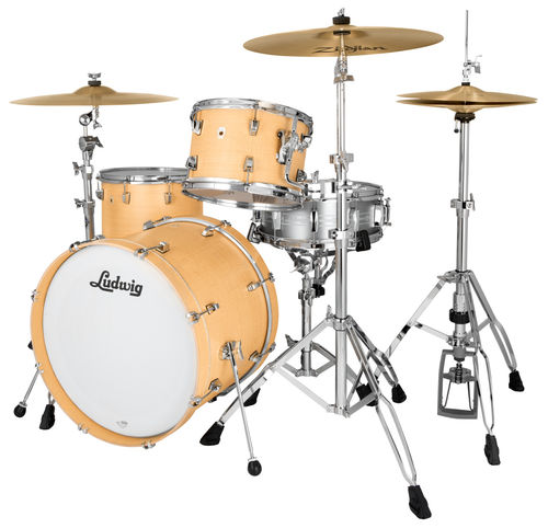 "Ludwig NeuSonic 3-piece Shell Pack - 22""-12""-16"" - Sugar Maple, L26223TX3Q"