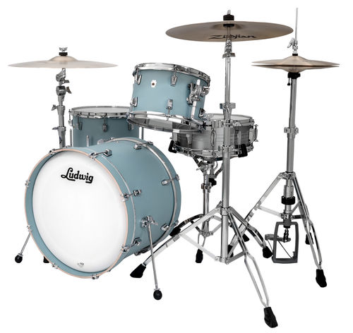 "Ludwig NeuSonic 3-piece Shell Pack - 22""-12""-16"" - Skyline Blue, L26223TX3R"