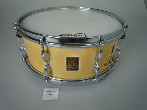 "Premier Royal Ace snare White Cortex 14"" x 5,5"", from 1960's"