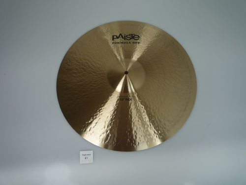 "22"" Paiste 602 Modern Essential Ride, 3027 grams, from 2015 NEW"