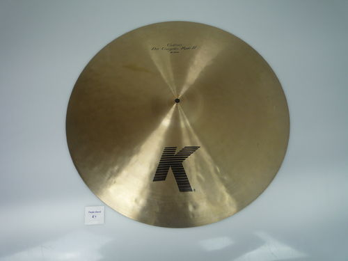 "24"" Zildjian Custom Dry Complex Ride II, 2979 grams"