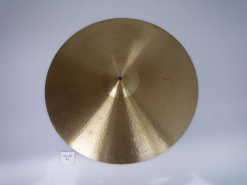 "22"" Paiste 602 Heavy Pre-Serial cymbal, 3187 grams from 1960's"